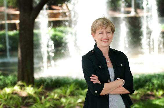 Connie McDaniel, Robinson College of Business alumna who has joined the TSYS board of directors