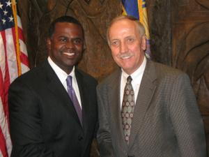 Cargo was one of the top items that Mayor Reed discussed with Louis Miller, Hartsfield's new general manager, during the hiring process.
