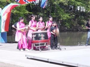 Chinese performers at last year's Dogwood Festival