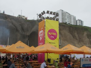 The MISTURA gastronomy festival in Peru this year attracted as many as 400,000 visitors.